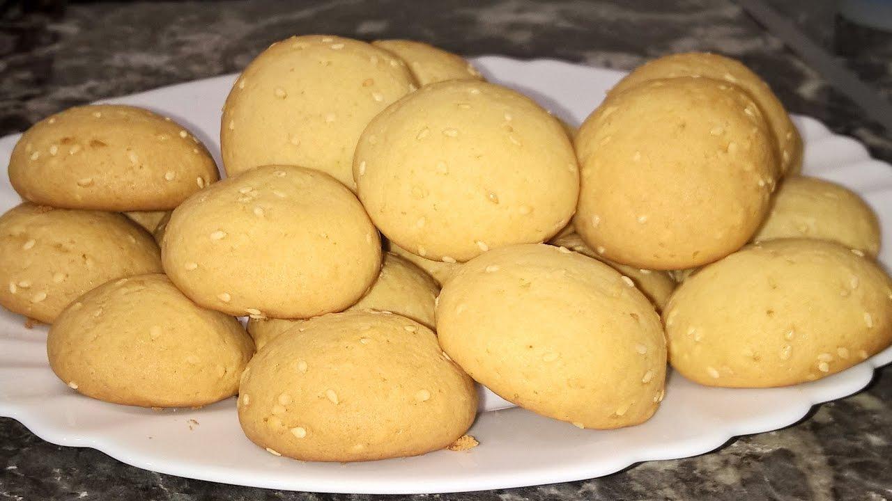 Печенье из майонеза и сметаны
