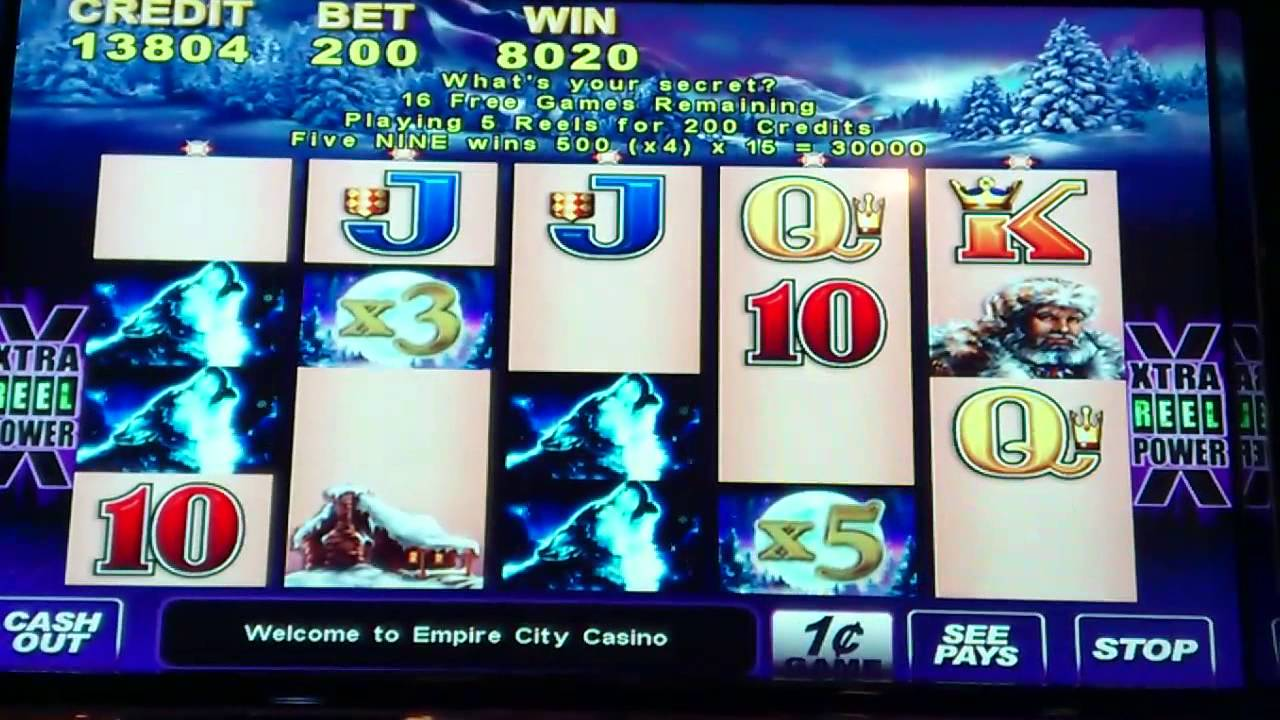 Big slot wins