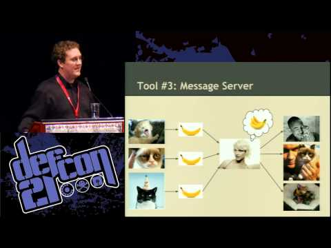 DEF CON 21 -  Brandon Wiley -  Defeating Internet Censorship with Dust