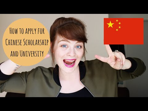 How to apply for Chinese Scholarship and University (China)