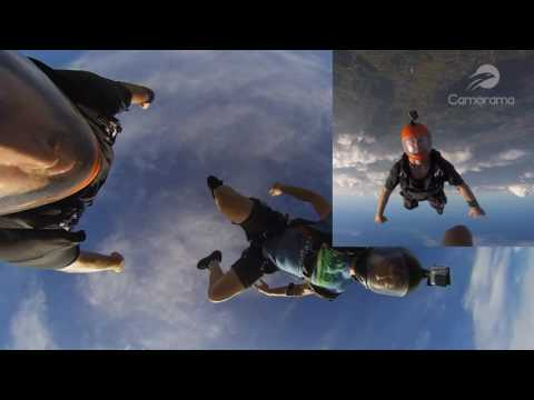 Skydiving – Camorama 4K 360 VR Video and gopro