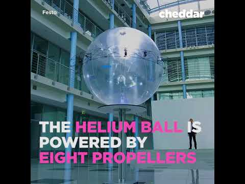 Helium ball can be your next personal assistant...