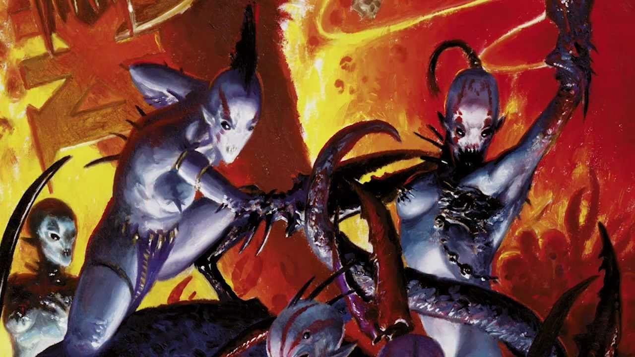 The Art Of Chaos Daemons With John Blanche And Robin Cruddace