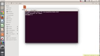 change file and folder permission on ubuntu