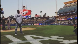 t pain sings national anthem at la dodgers game 8 31 15