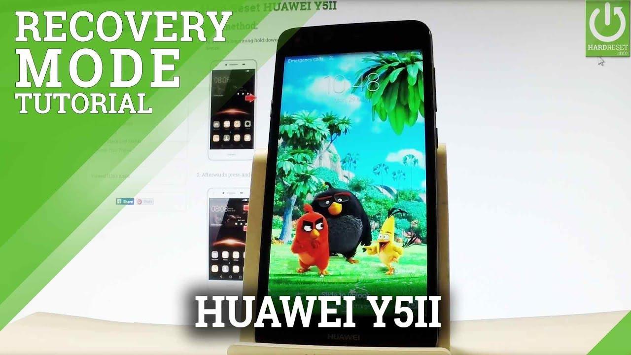 Recovery Mode HUAWEI Y5 2017 - HardReset info