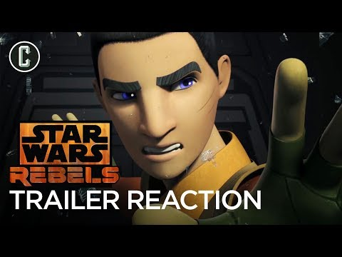 Star Wars Rebels Series Finale Trailer Reaction & Review