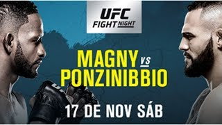 UFC Buenos Aires Magny v Ponzinibbio Fight Breakdowns & Predictions
