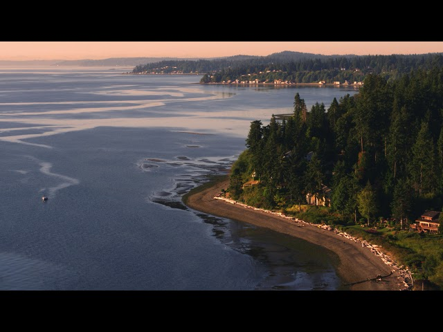 Sunrise: Bainbridge Island Waterfront Homes