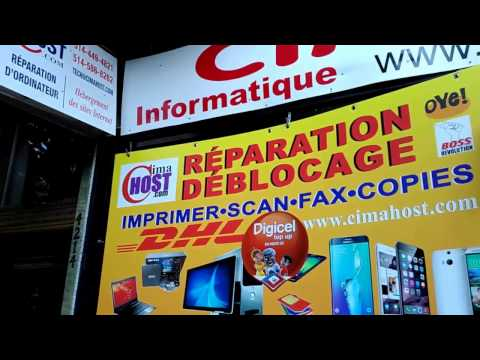 Unlock mobile phones in Montreal Canada