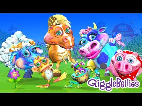 Old MacDonald Had A Farm | Nursery rhymes | 3D Rhymes | Children song by GiggleBellies