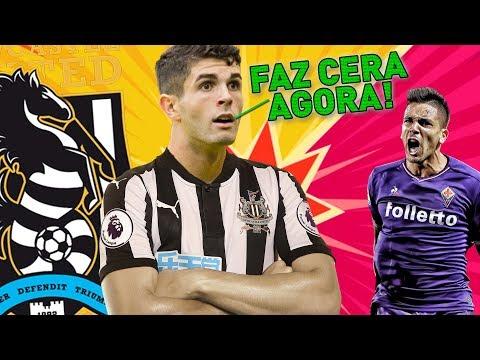 HAHAHA TOMA ESSA FIORENTINA! | FIFA 18 Modo Carreira ULTRALIGA #22 - Newcastle