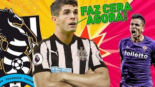 HAHAHA TOMA ESSA FIORENTINA!   FIFA 18 Modo Carreira ULTRALIGA #22 - Newcastle