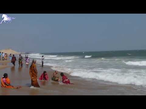 Marina Beach - World Famous Beach in Chennai (Madras) - India