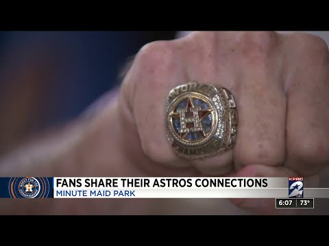 Fans share their Astros connections