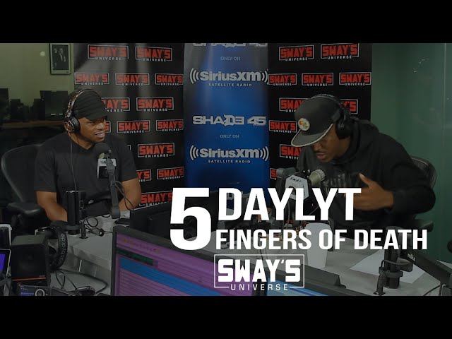 Daylyt Kills the 5 Fingers of Death on Sway In The Morning