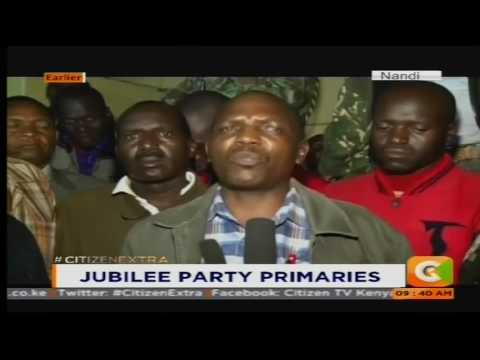 Confusion in Nandi County over election materials