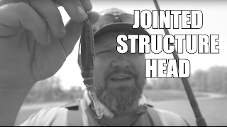 kayak bass fishing   just the tip   jointed structure head