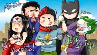 Scribblenauts Unmasked: ¡SOY AMIGO DE BATMAN! :'D ( #SemanaDeLaNostalgia )