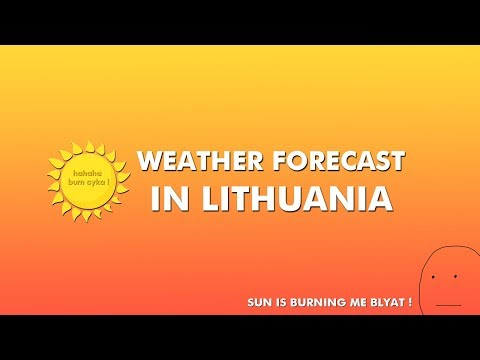 Weather In Lithuania