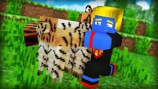 Minecraft: MEU AMIGO TIGRE ‹ MORANDO SOZINHO › #05
