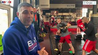 BEING A BOXING COACH - ALEX MATVIENKO