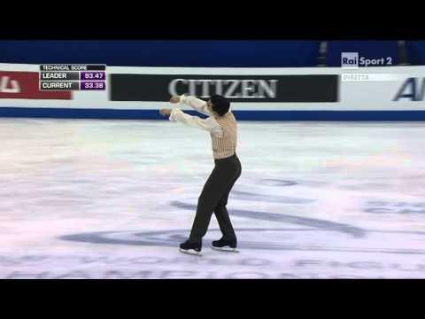 2015 Figure Skating World Champs Shanghai - men - FP - Javier FERNANDEZ