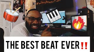 I promise this is the best beat EVER‼ (making a boom bap hip hop beat)