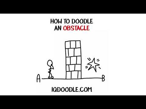 How to Draw an Obstacle (drawing tips)