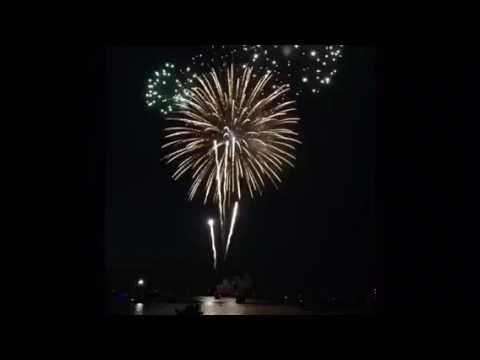 Pensacola Beach Fireworks 2016