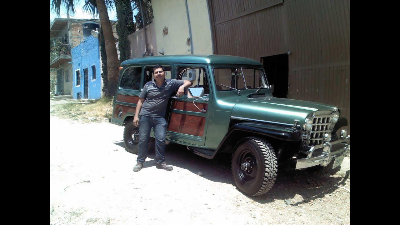 Restauracin De Willys Wagon Modelo 1953 Youtube Jeep