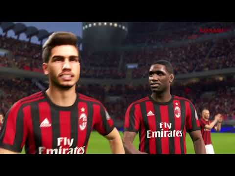 PES 2018 e AC Milan: partnership mondiale!