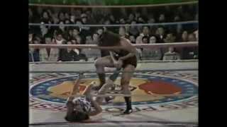 AJW 11/27/80 Jackie Sato vs Devil Masami.