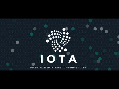Undervalued Cryptocurrencies: IOTA (MIOTA) - the backbone of Internet-of-Things