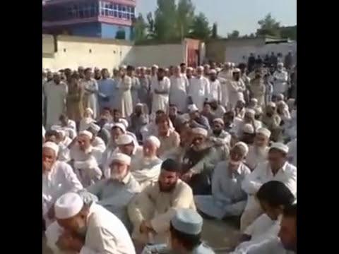 Complete video JANAZA (Father of the maulana nasir ahmad)