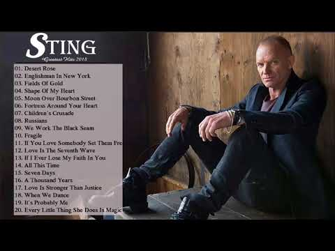 sting-greatest-hits-full-album---the-very-best-songs-of-sting