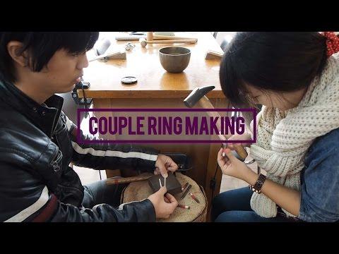 RINA IN KOREA VLOG #25 Making Couple Rings at Banji Maeul