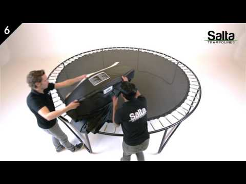 "Video: Salta Trampolin ""Premium Black Edition Rund"""