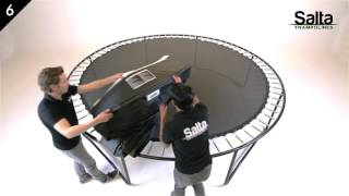 Salta Trampolines - Premium Black Edition Round Instruction Video