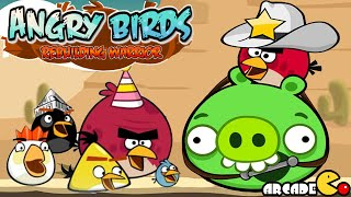 Angry Birds Rebuilding Warrior Gameplay Walkthrough