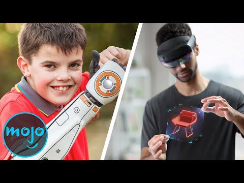Top 10 Futuristic Technologies You Didn't Know Actually Exist