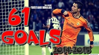 Cristiano Ronaldo All 61 Goals ● 2014/2015 HD● ENGLISH COMMENTARY