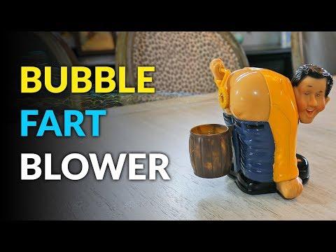 The Bubble Fart Blower Machine - Bubble Butt Blower