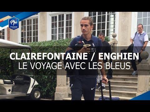 Equipe de France : le  voyage de Clairefontaine à Enghien