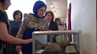 Emine Erdoğan, Özbekistan Sanatı, Gelenekten Esinlenerek Adlı Sergiye Katıldı