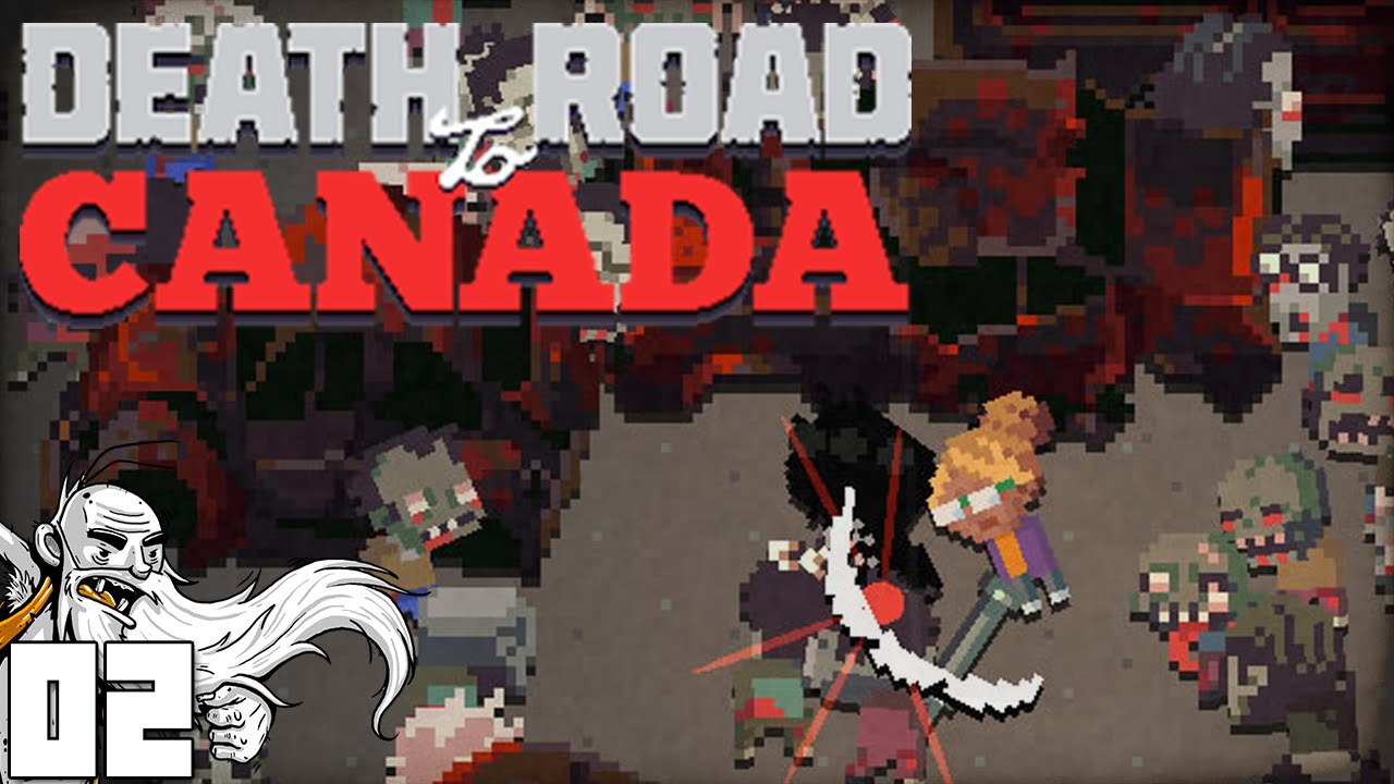 all my friends are dead death road to canada ep 02. Black Bedroom Furniture Sets. Home Design Ideas