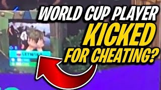 Fortnite World Cup Player KICKED For CHEATING..? Did He Even CHEAT?