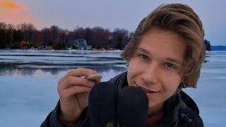ASMR on a Frozen Lake