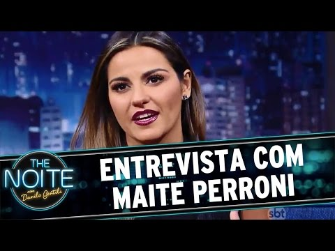 The Noite (18/07/16) - Entrevista com Maite Perroni