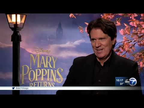 Director Rob Marshall Talks About The New Film 'Mary Poppins Returns'